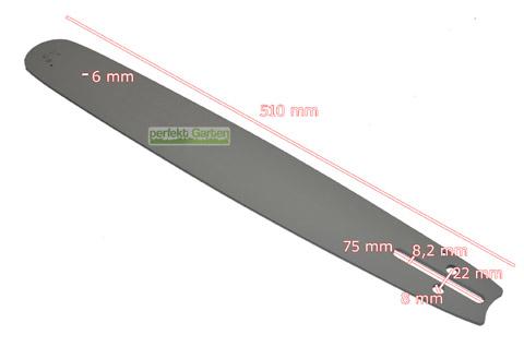 """Schwert passend für Jonsered 535 45cm 325/"""" 72TG 1,5mm Führungsschiene guide bar"""