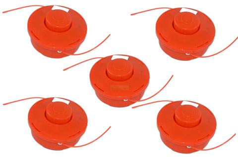5x Fadenspule für Zipper ZI-MOS145G Motorsense