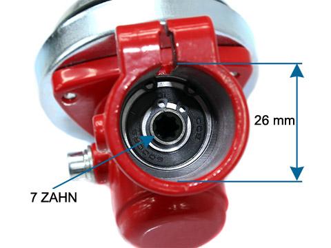 7 dent boîte de vitesses Faux dissertation adapté pour Brast 2in1 Débroussailleuse